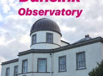 Irish Sky At Night at Dunsink Observatory
